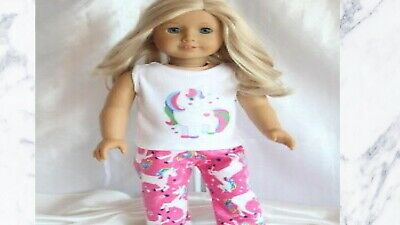 Doll Clothes fits 18inch American Girl Dress Pajamas koala