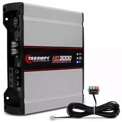 Taramps HD 3000 1 Ohms AmplifierTaramp's HD3000 Digital 3000 Rms Delivery