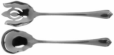 Oversized Salad Serving Set 8901373 Reed /& Barton ROSECLIFF STAINLESS