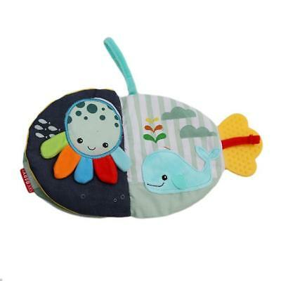 Fish Shape Cloth Cognize Book Intelligence Educational Toy W
