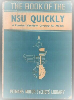 NSU Quickly Moped Manual 1953-1959 Book Model N, L and S