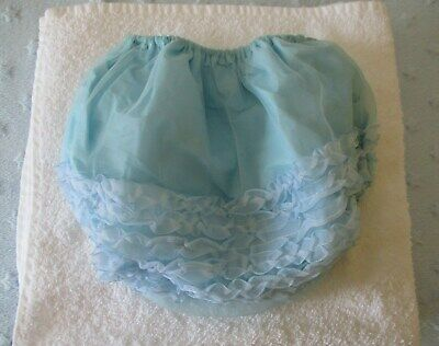 Rare Vintage Wise-Way Plastic Baby Pants Very Soft Plastic & Frilly Bottom