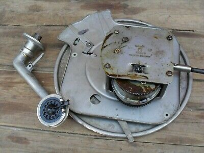 vintage wind up gramophone turntable and mechanism columbia 11a ? spares