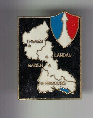 Rare Pins Pin's .. Armee Army Baden Fribourg Treves Landau Ffa Allemagne ~Ej