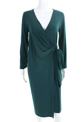 47533a0d16 Rosie Pope Maternity Womens Emerald Wrap Maternity Dress Size M 10789403