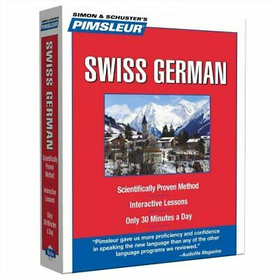 Pimsleur Swiss German Level 1 CD Learn to Speak and Understand ... 9780743550604