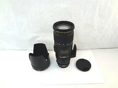 Sigma EX 70-200mm F2.8 APO DG HSM Lens With 1.4x Teleconverter For Sony A-Mount