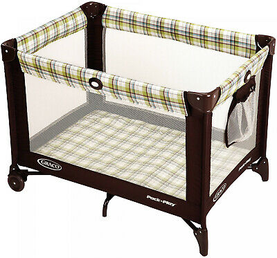 Portable Baby Playard Graco Travel Pack Play Nap Folding Playpen Toddler Infant