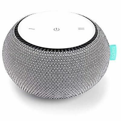 SNOOZ White Noise Sound Machine - Real Fan Inside for Non-Looping White Noise So