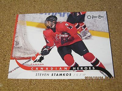 2009 10 OPC O Pee Chee Canadian Heroes #CB ST - Steven Stamkos