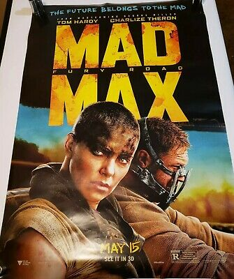 Mad Max: Fury Road Original D/S Movie Poster 27 x 40 Tom Hardy Charlize Theron