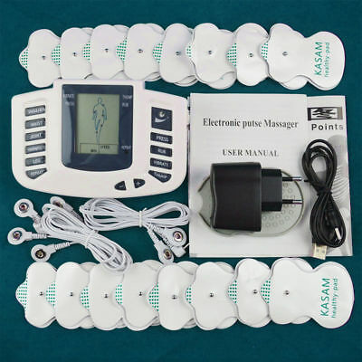 1Set Electrical Stimulation Massage Tens Unit Machine Muscle Therapy Pain Relief
