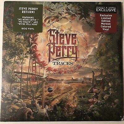 Steve Perry Traces Lp Maroon Colored Vinyl Exclusive Limited Edition 2018 New