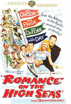 Romance On The High Seas Dvd - Romance On The High Seas - Movie Dvd DV029364
