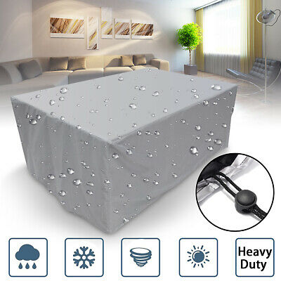 16 Size Waterproof Furniture Sofa Cube Chair Table Cover Garden Patio Protector!