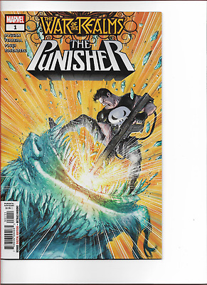 WAR OF THE REALMS - PUNISHER (2019) #1 - New Bagged (S)