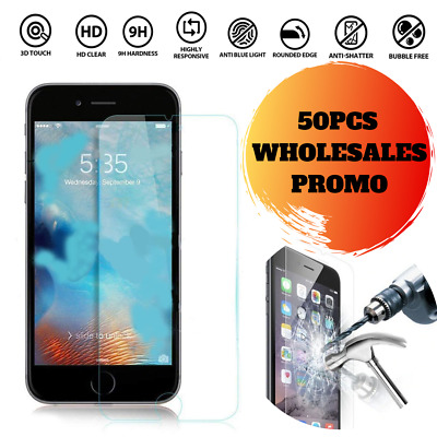 Wholesale 50pcs x Ultra Clear Screen Protector Guard Apple Iphone 6G Plus