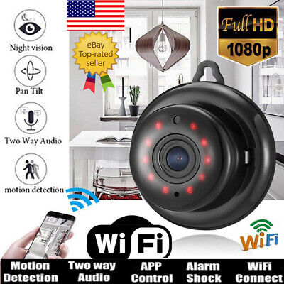 US 1080P Wireless Mini WIFI IP Camera HD Smart Home Security Camera Night Vision