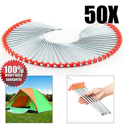 Outdoor Revolution Tent Awning Camping Heavy Duty Hard Ground Metal Tech Pegs