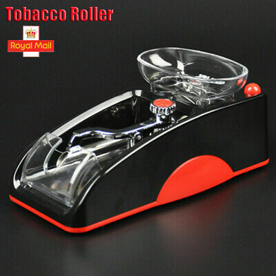 G Rolling Machine Tobacco Maker Roller Electric Automatic Cigarette Injector Red