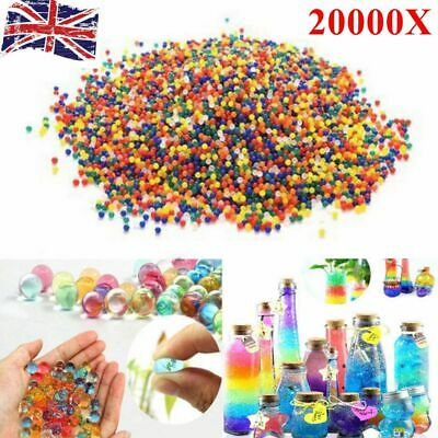 20000PCS Kid Toy Multi Colour Crystal Water Plant Beads Bio Hydro Gel Ball Party