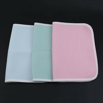 Baby Urine Pad Waterproof Bed Sheet Pad Colorful Toddlers Blanket Nappy Cover BS