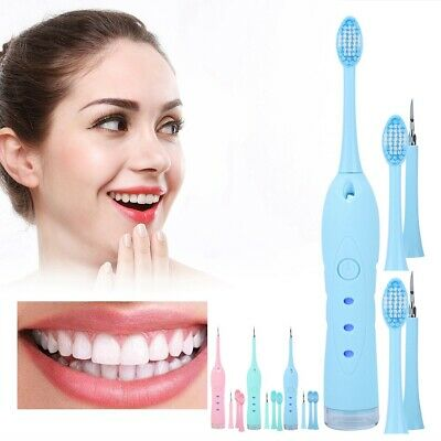 IPX6 Electric Sonic Dental Calculus Remover Scaler Tooth Stain Removal Low Noise