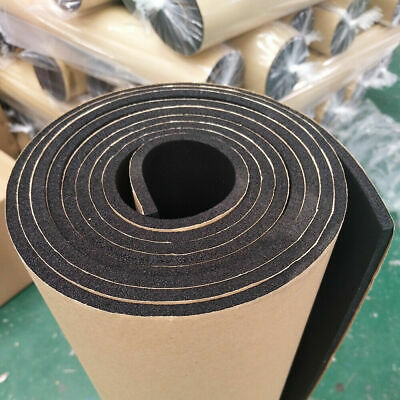 3m x 1m Roll Car Sound Deadening MLV Barrier Moldable PeaceMAT L 2.2Kg Van Boat