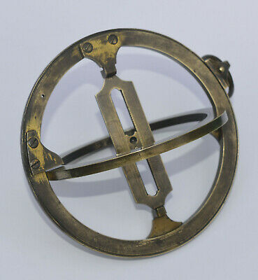 18th century brass ring dial