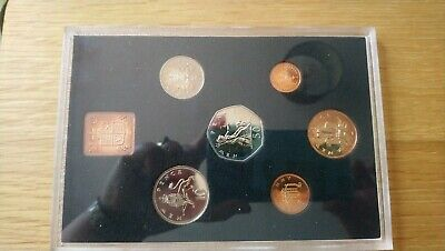 The decimal Coinage of Great Britain and Northern Ireland Proof Coin Set 1971