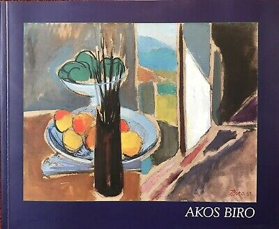 Akos Biro (Hungarian 1911-2002) Exhibition Book On The Artist - From The Studio
