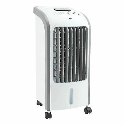 Portable Air Cooler Ice Water Fan Humidifier 3 Settings AC W/Remote Summer Timer