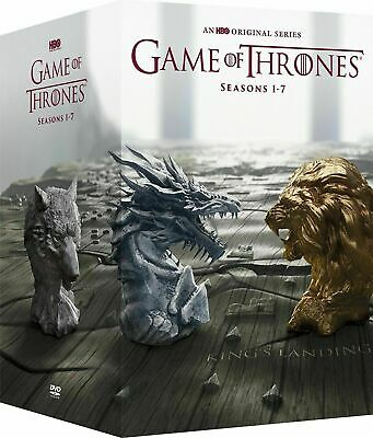 Game Of Thrones Complete Series Seasons 1-7 Dvd 34 Disc Set Free Shipping