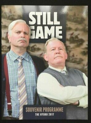Still Game Rare Programme Live 2 The Hydro Glasgow 2017 Deluxe Size