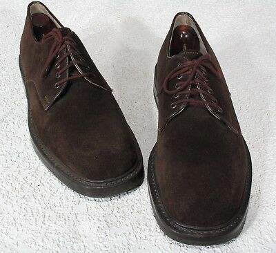 1bbf26086ced J Crew Shoes10.5D Brown Suede Lace Up Oxfords, Commando Sole, Made in