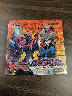 Cardfight! Vanguard Blazing Perdition Factory Sealed ENG Booster Box VGE-BT17
