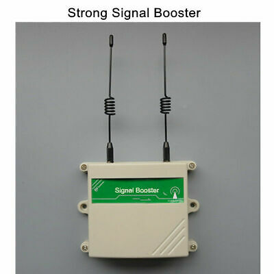 315/433MHz RF Signal Repeater Booster Enhance Transmitter Alarm Security System