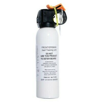 FRONTIERSMAN FBAD00 Hunting Camping Hiking Practice Bear Spray
