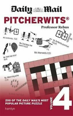 Daily Mail Pitcherwits - Volume 4 by Professor Rebus 9780600635642 | Brand New