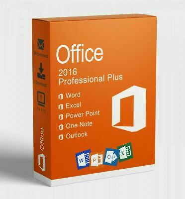 Ms  Office 2016 Professional Pro Plus 32/64 Bit Instant Delivery