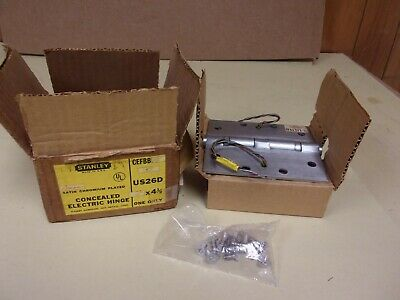 """Stanley CEFBB191 Concealed Electric Hinge 5"""" x 4.5"""""""