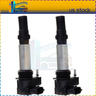 PACK OF 6 Ignition Coils 19279906 D510 For 2009 GMC Acadia