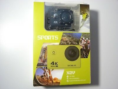 Sport Video Camera 4K 1080P 16MP WiFi Action Camera Waterproof Camera - NEW