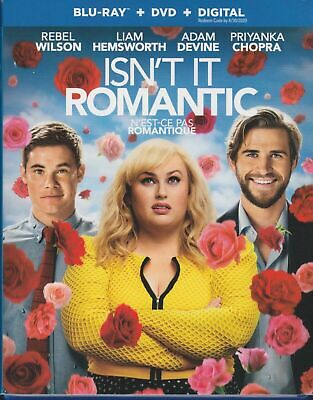 NEW - Isn't It Romantic (Blu-ray + DVD + Digital)  with Slipcover