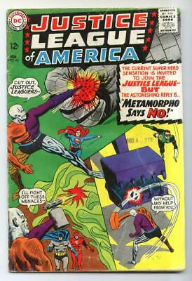 Justice League of America #42 (Mike Sekowsky) Silver Age-DC Comics VG+ {50% OFF}