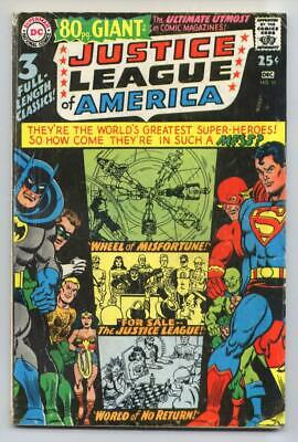 Justice League of America #58 (Giant #G-41) Silver Age-DC Comics VG+ {50% OFF}
