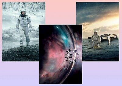 Interstellar  A5 A4 A3 Tectless Movie & DVD Posters