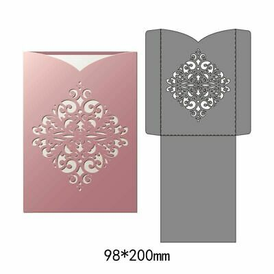 Hollow Lace Cutting Dies Embossing Machine Scrapbook Paper Craft Supply Envelope