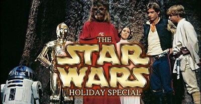 Star Wars Holiday Special DVD Muppet Show Kenner Toy Christmas 1978 TV Rare Fun