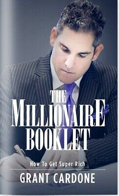 The Millionaire Booklet [Audiobook] by Grant Cardone